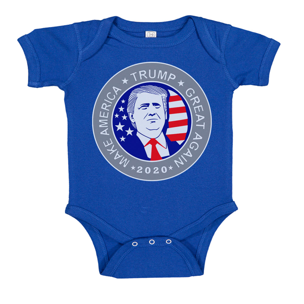 Donald Trump Presidential Election 2020 Make America Great Again Baby Bodysuit