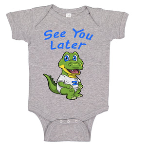 See You Later Alligator Cute Baby Bodysuit Romper