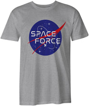 Load image into Gallery viewer, Ink Trendz® Space Force USSF Funny USA Novelty T-Shirt Space Force Tee, The Office T-Shirt