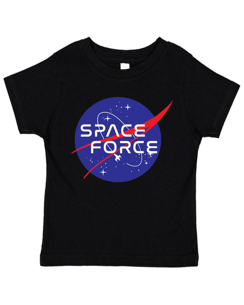 SPACE FORCE USSF PEW PEW Space Exploration Toddler T-Shirt