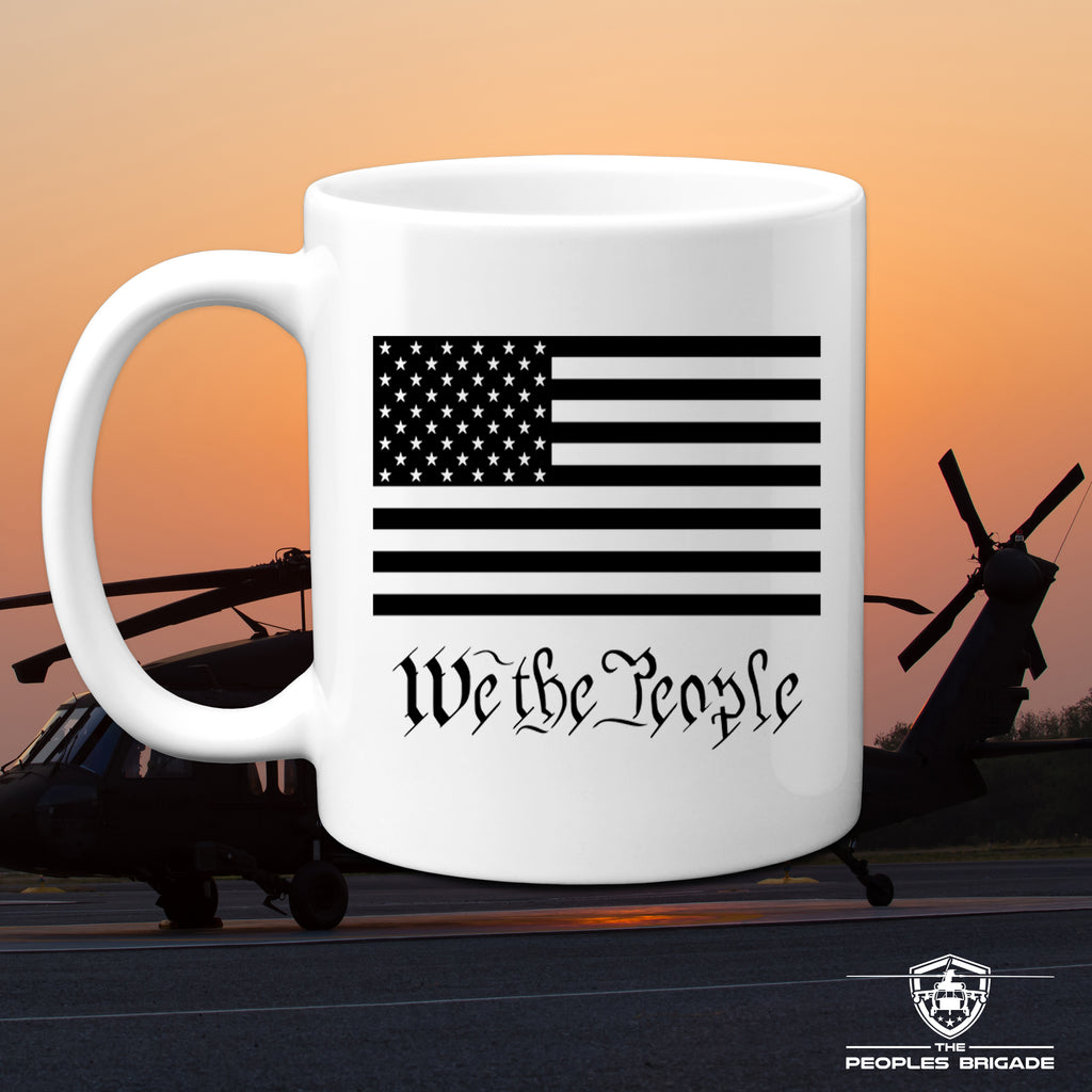 The Peoples Brigade We the People 11 Oz. Coffee Mug Cup Patriotic Coffee Mug