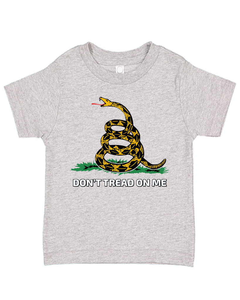 Ink Trendz® Don't Tread On Me Gadsden Serpent est. 2020 Funny Toddler Tee T-Shirt
