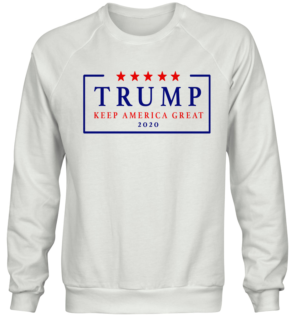 Re Elect Donald Trump 2020 USA Keep America Great Crewneck Sweatshirt