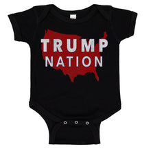 Load image into Gallery viewer, TRUMP NATION USA Baby Body Suit