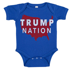 TRUMP NATION USA Baby Body Suit