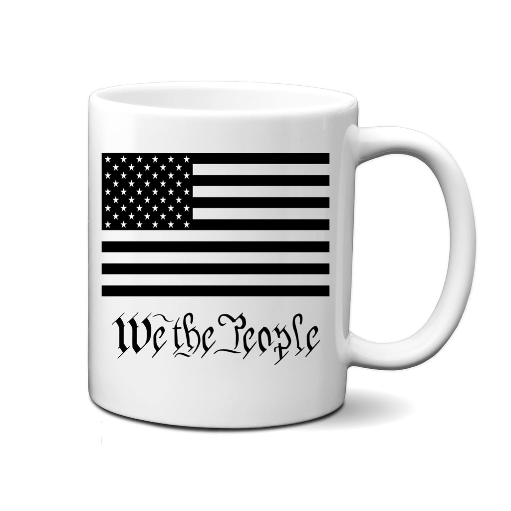 Ink Trendz® We the People American Flag 11 Oz. Coffee Mug Cup, Patriotiuc Coffee Mug, We the People Mug, We the People swag