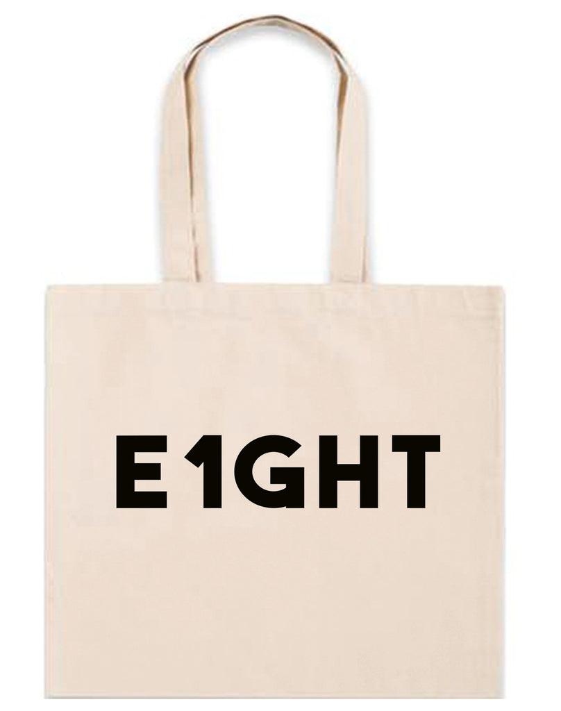 E1GHT infertility 6oz. Natural Blank Canvas Tote