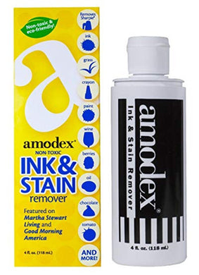 Amodex® Non-Toxic Ink & Stain Remover DTG Pretreat Stain Remover 4 fl oz. Bottle