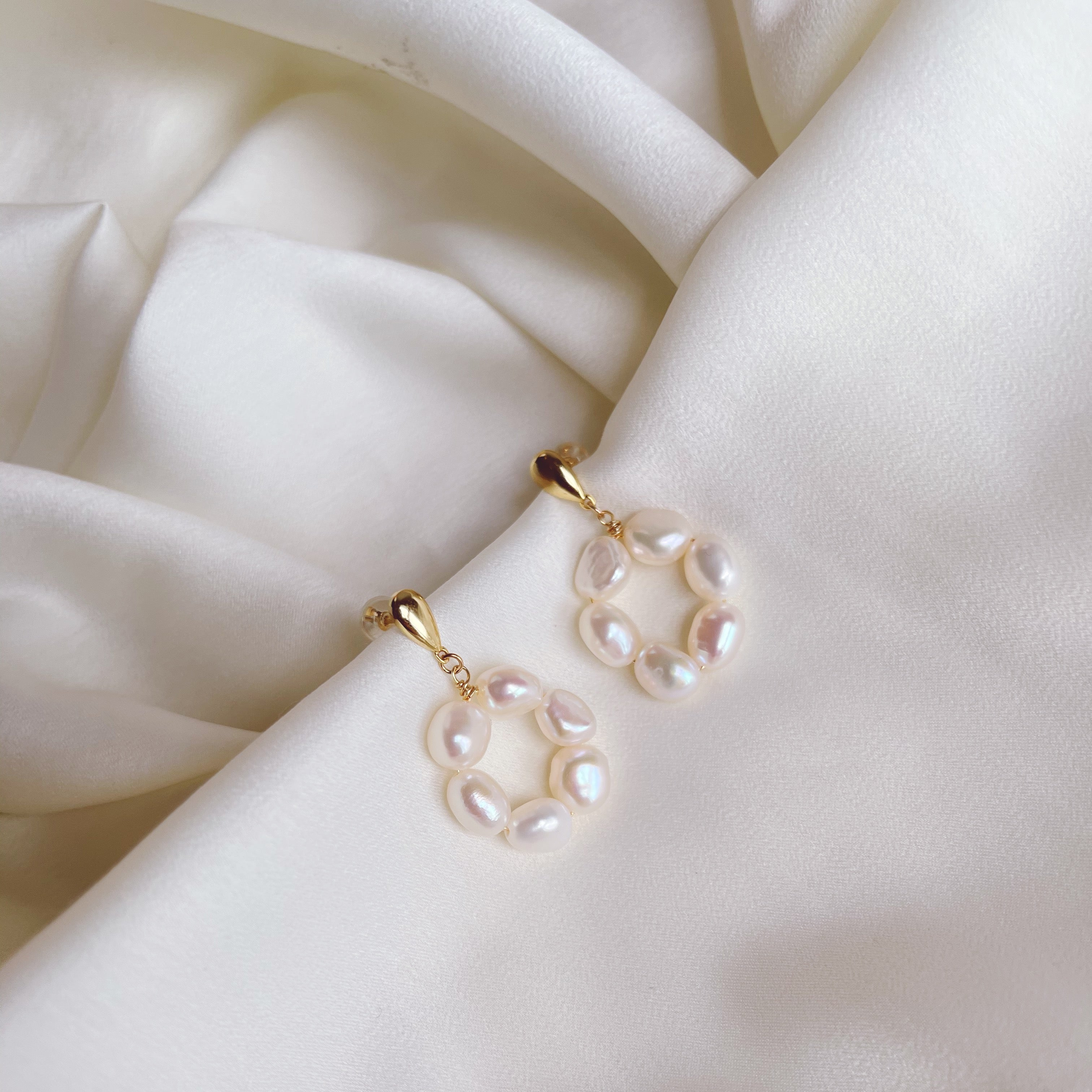 All Rounder Pearl Earrings