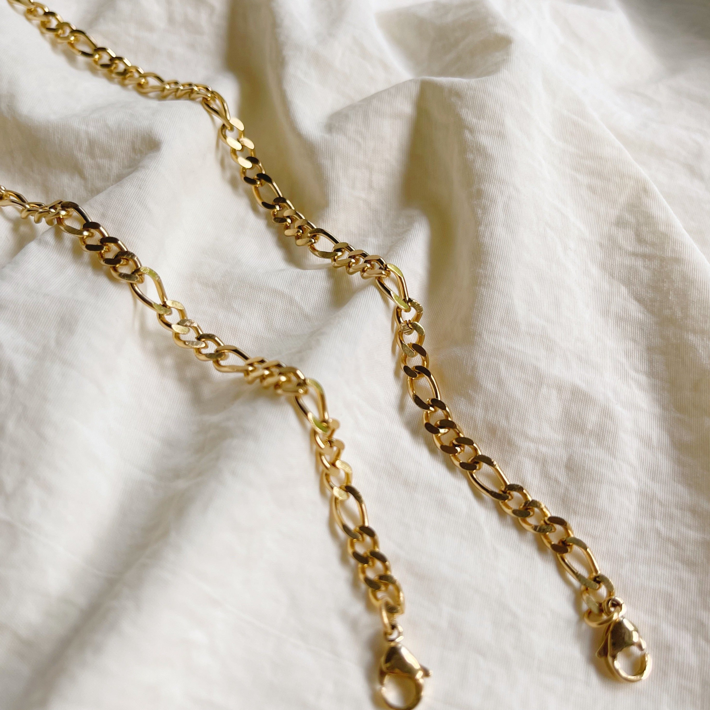 Chunky Gold Cable Mask Chain