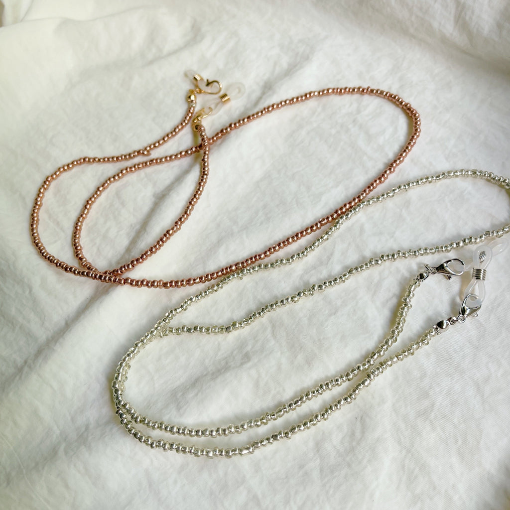 First Come First Chic Mask Bead Chain