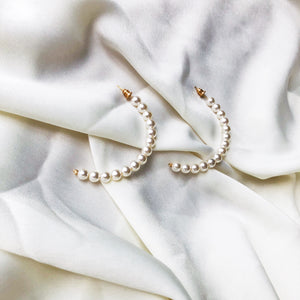 Better Half Pearl Hoops