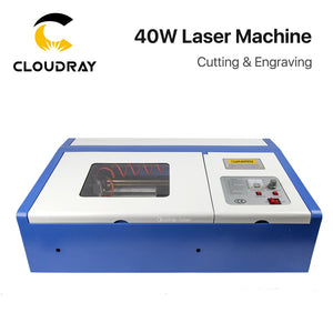 Cloudray 40W CO2 Laser Engraving Cutting Machine Engraver Cutter USB 3020 Port High Precise