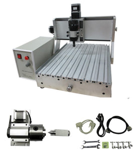 LYCNC3040Z-D500W 4axis Ball screw 1605, Pitch 4mm for CNC 3D Laser Engraving Machine 600X510X480mm