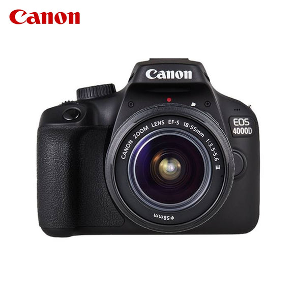 Canon For EOS 4000D 18 MP 5184 x 3456 Full HD 436g pixels Black
