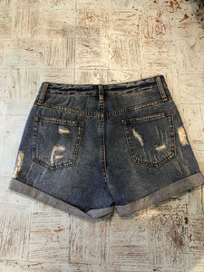 Damage Denim short