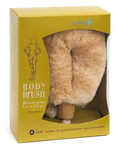 BODY BRUSH- SISAL (MEDIUM) HANDHELD