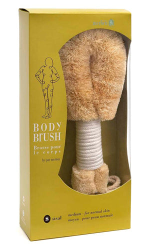 BODY BRUSH- SISAL (MEDIUM)