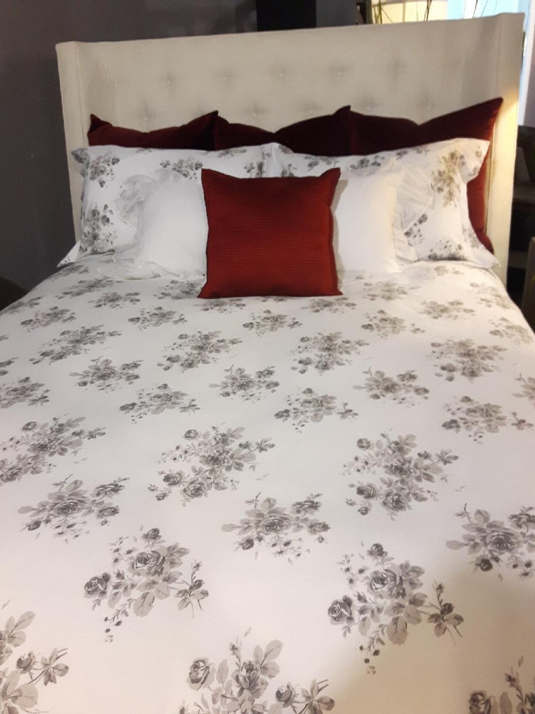 3-PC ROSE DUVET SET