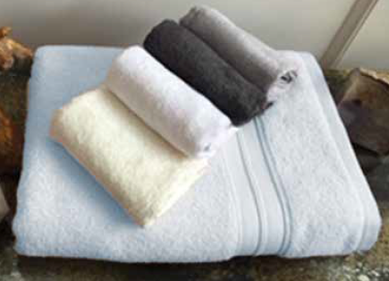 CAPRI COTTON & BAMBOO BATH TOWELS