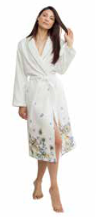 PASSION FLOWER BATHROBE