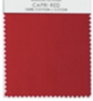 CAPRI RED TABLE LINENS