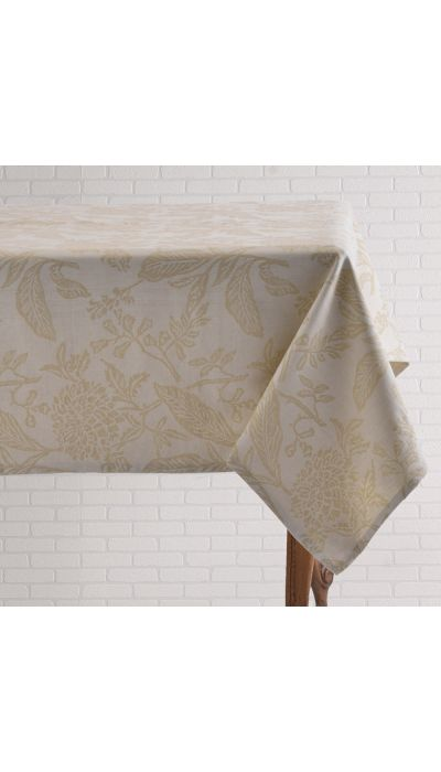 BOTANICAL TABLECLOTH