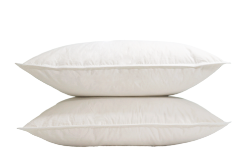 BRESCIA WHITE DUCK DOWN PILLOW