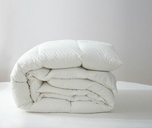 BRESCIA WHITE DUCK DOWN DUVET