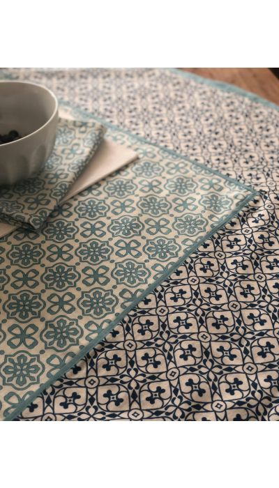 ESTEBAN BLUE NAPKIN, SET OF 4