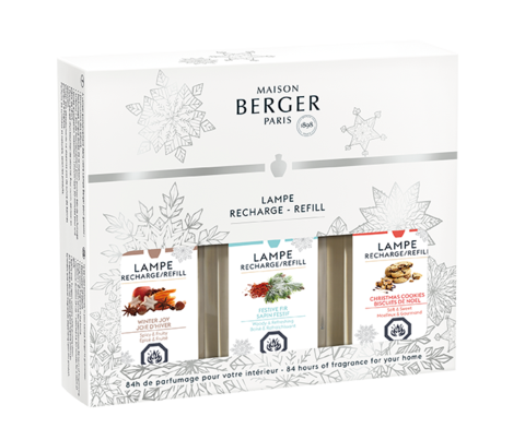 MAISON BERGER WINTER HOLIDAY TRIO PACK