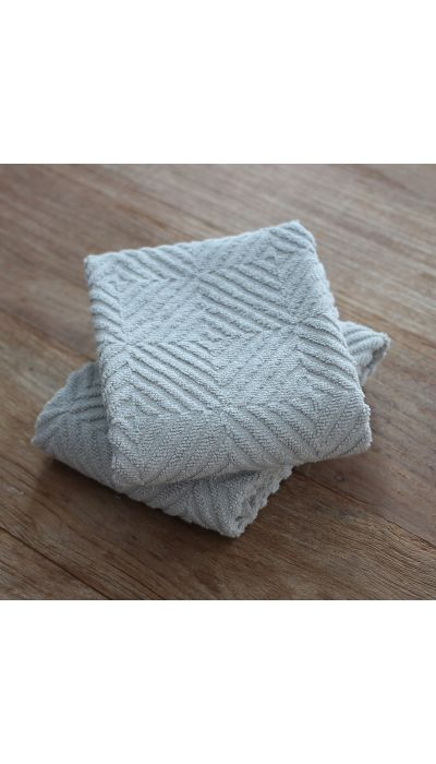 HERRINGBONE TERRY KITCHEN TOWEL, S/2