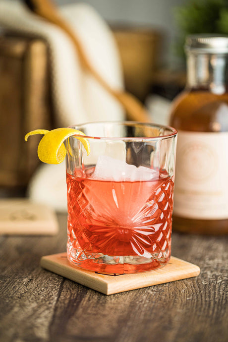 Kvas Festive Negroni (Featured in Food and Drink)
