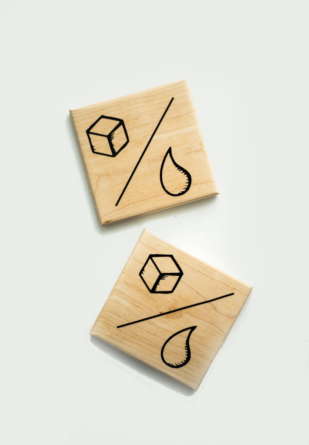 Maple Wood Kvas Coasters (Set of 2)