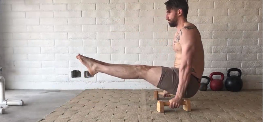 Parallettes: Body-weight Exercise for Results Anywhere