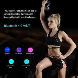 Bluetooth V4.0 Fitness Wireless Heart Rate Monitor Sensor Chest Strap