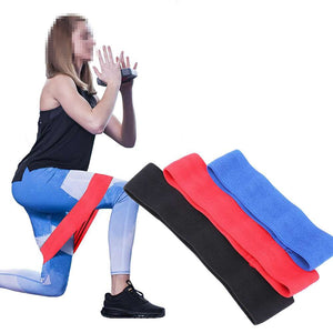 "Glute Resistance Bands Anti Slip 3"" Band"