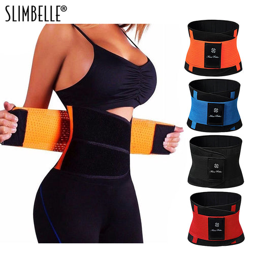 Waist Trainer Belt for Women - Waist Cincher Trimmer - Slimming Body Shaper Belt - Sport Girdle Belt (UP Graded)