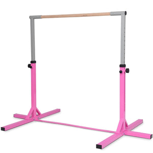 Adjustable Gymnastics Bar Horizontal Bar for Kids