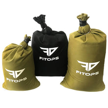 Load image into Gallery viewer, SandBag - Fit-Ops Alpha Sand bags - Handle-Less Exercise Weight Fitness Sandbags