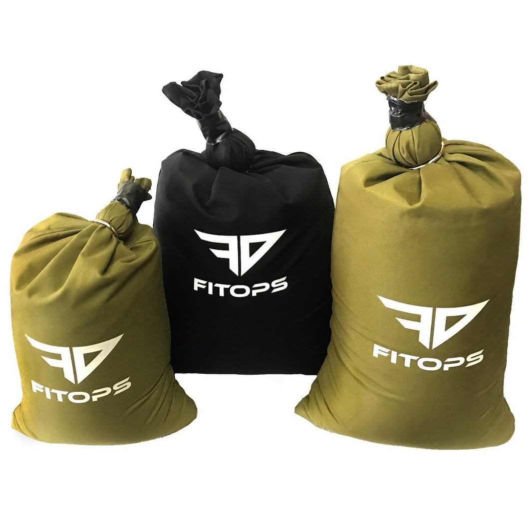 SandBag - Fit-Ops Alpha Sand bags - Handle-Less Exercise Weight Fitness Sandbags