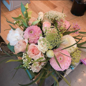 Blooming Pinks (size option) *vase arrangement*