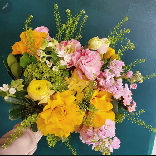With Yellow (size option) *bouquet*