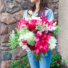 Load image into Gallery viewer, Lady in Pink (size option) *bouquet*