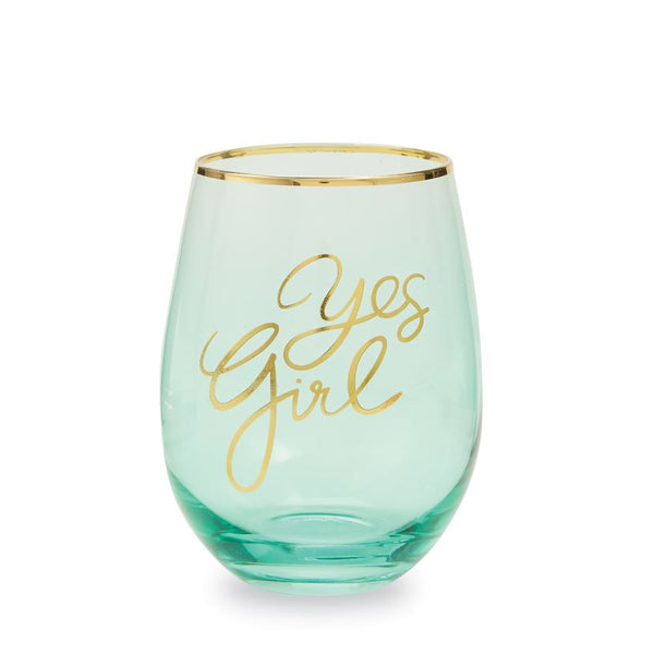 Sentiment Wine Glass - Owl Cove