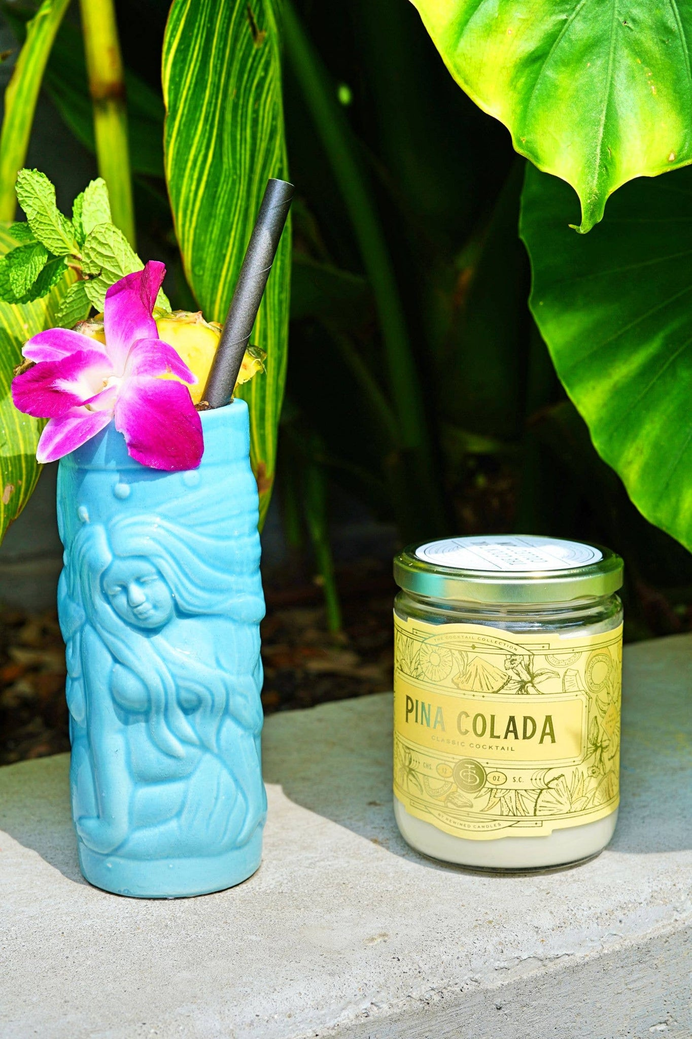 Pina Colada Candle (12 oz) - Owl Cove