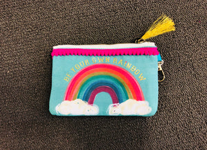 ID Pouch Be Your Own Rainbow - Owl Cove