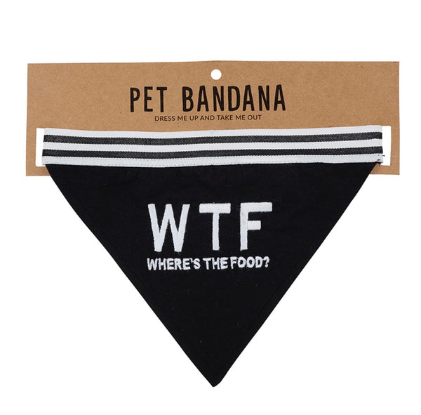 W.T.F Pet Bandanna - Owl Cove