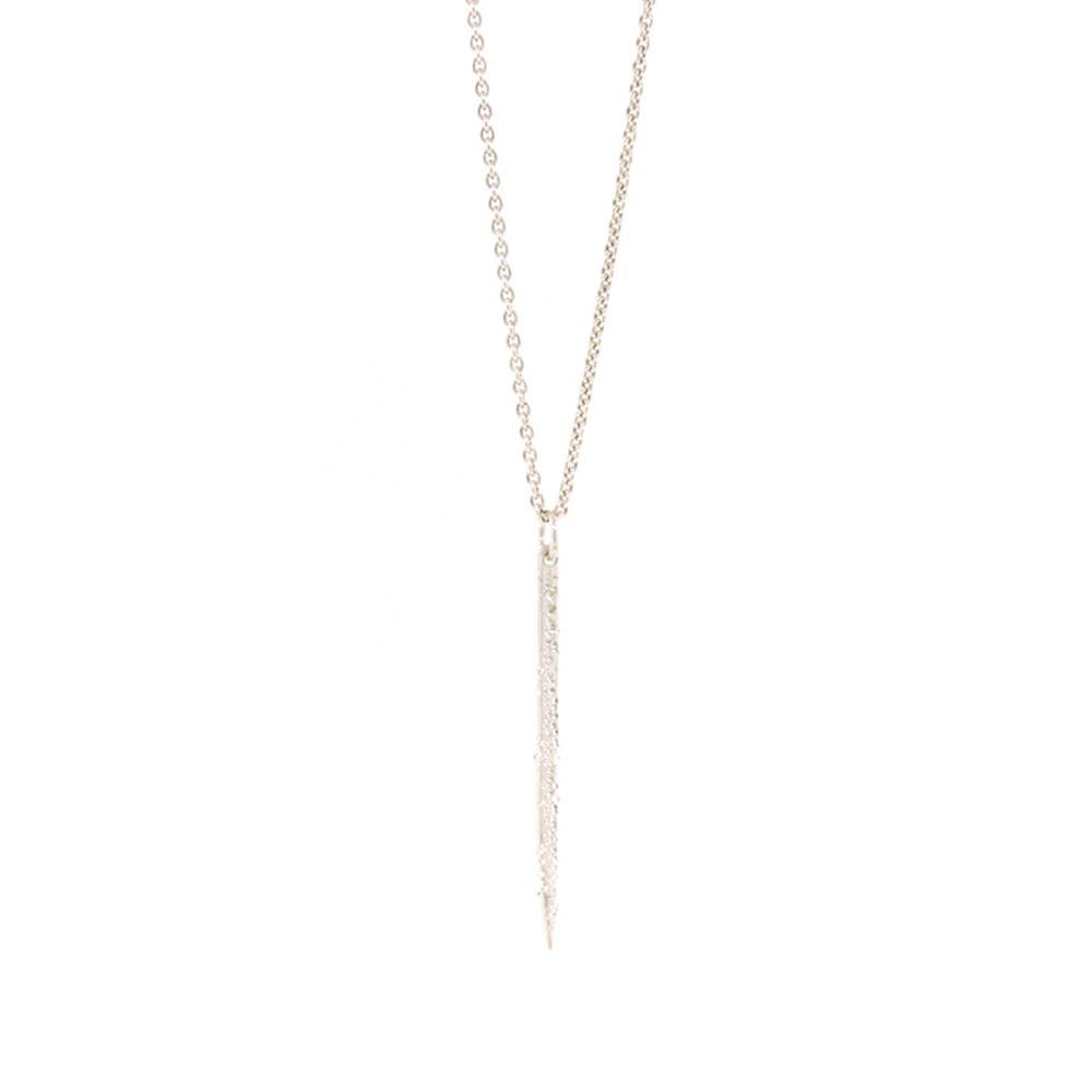 CK Designs Mini Spike Necklace - Sterling Silver - Owl Cove