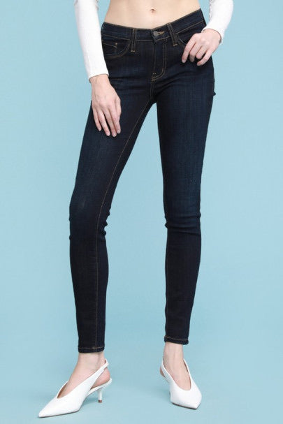 Judy Blue Classic Wash Rayon Skinny Jeans - Owl Cove
